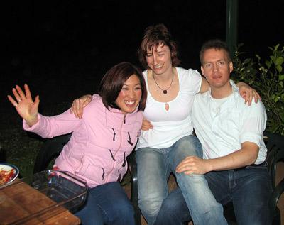 Sofie, Mel and Alexander