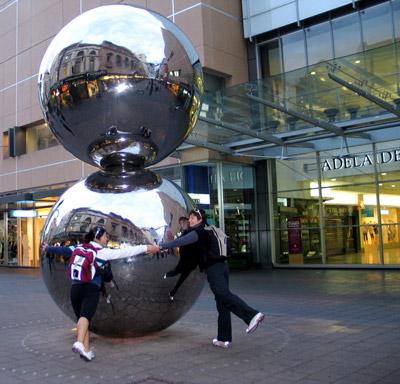 Rundle Mall Balls