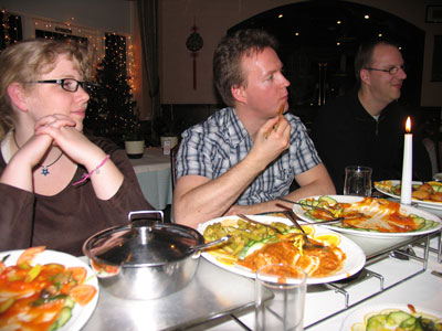 Chinese Restaurant - Janne, Alexander and Robert